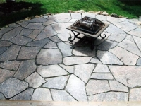 Attractive Flagstone Patio