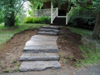 Steps and Landing