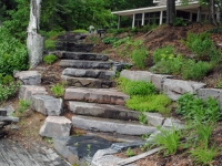 Rustic Stone Steps