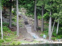 Steps Set Into the Hill