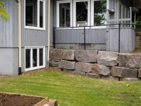 Walls to Retain a Terrace