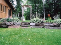 A Custom Garden Wall